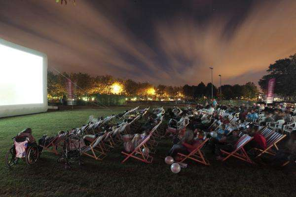 A big screen under the stars; the Open-Air Film Festival