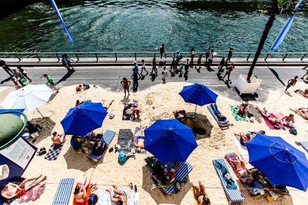 Refreshing days at Paris Plages