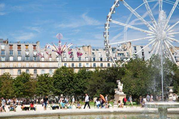 Tuileries funfair: laughter guaranteed!