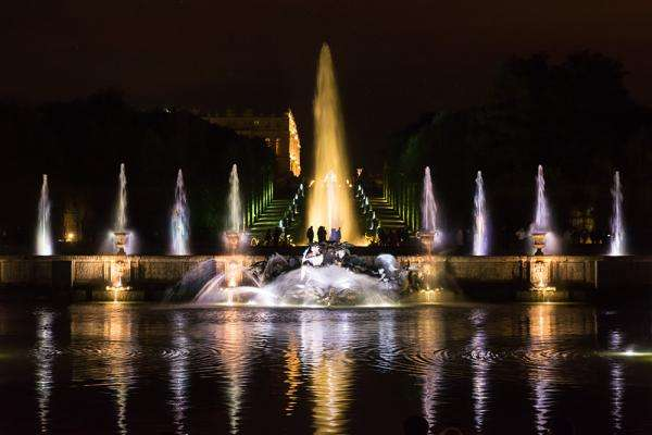All the magic of Versailles; the Musical Fountains Show and Royal Serenade