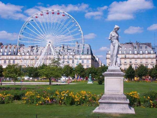 Mettez-vous au vert au Jardin des Tuileries
