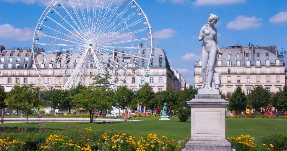 Go green at the Tuileries Garden