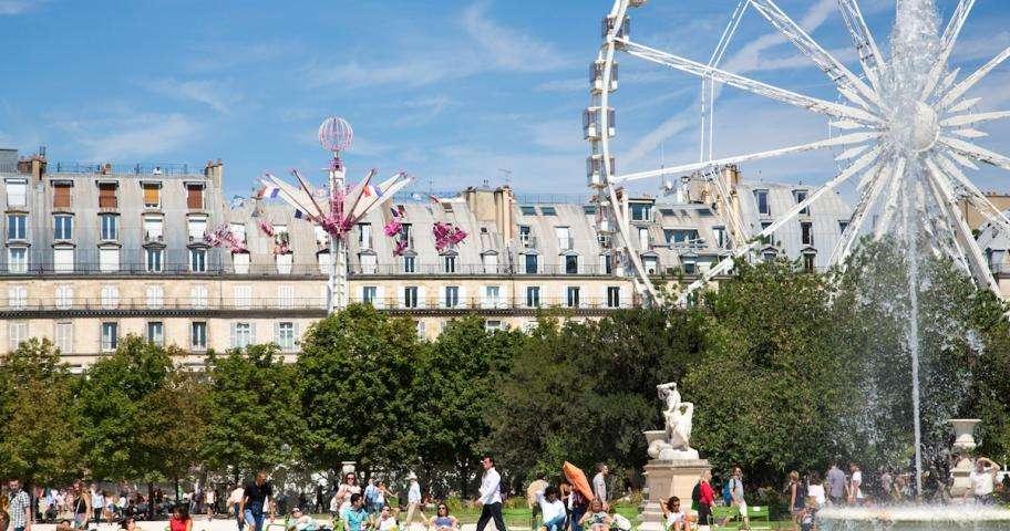 Tuileries funfair: laughter guaranteed!